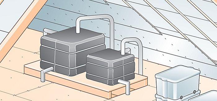 عزل البيارات وخزانات المياه